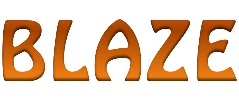Blaze fireplaces logo