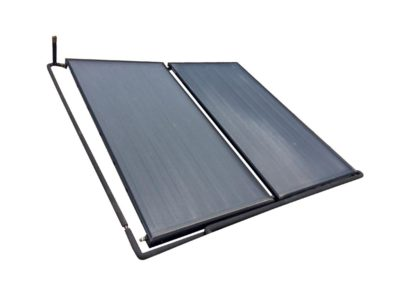 nupower flat plate solar system